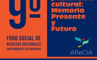 Somos Patrimonio cultural: memoria, presente y futuro.